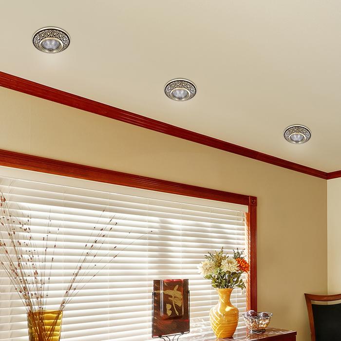 Встраиваемый светильник Novotech Spot Vintage 370002, 1xGU5.3x50W, коричневый, металл - фото 3