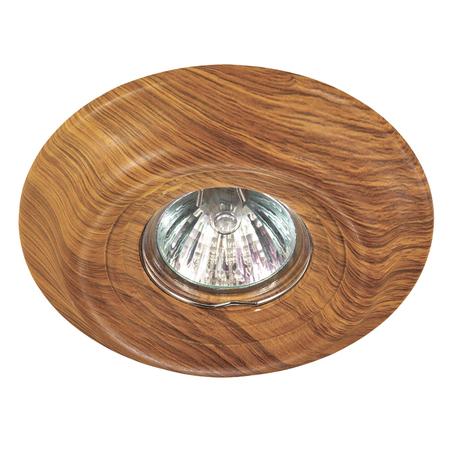 Встраиваемый светильник Novotech Pattern 370088, 1xGU5.3x50W, коричневый, песчаник