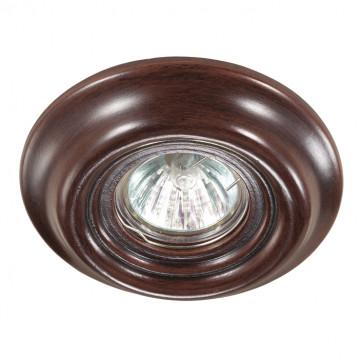 Встраиваемый светильник Novotech Pattern 370089, 1xGU5.3x50W, коричневый, песчаник