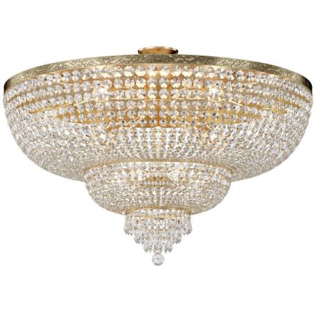Потолочная люстра Maytoni Palace DIA890-CL-18-G, 18xE27x60W, черненое золото, прозрачный, металл