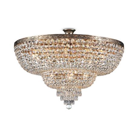 Потолочная люстра Maytoni Royal Classic Palace DIA891-CL-14-G, 14xE27x60W, черненое золото, прозрачный, металл, хрусталь