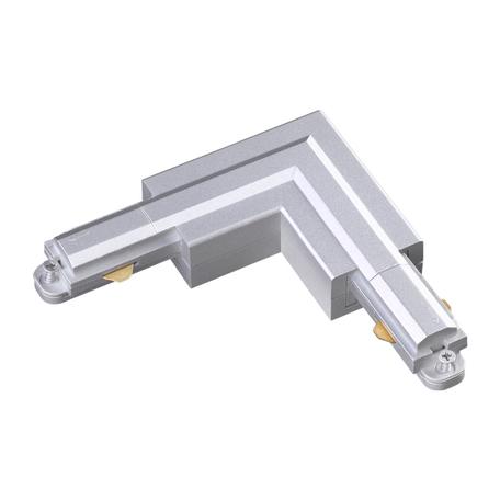L-образный соединитель для шинопровода Novotech Port 135083, белый, пластик
