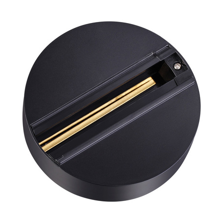 Шинопровод Novotech Port 135073, черный, пластик