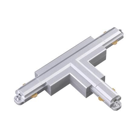 T-образный соединитель для шинопровода Novotech Port 135088, серебро, пластик