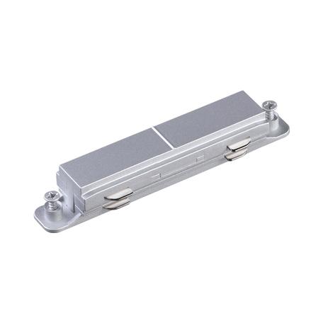 Внутренний прямой соединитель для шинопровода Novotech Port 135082, алюминий, пластик
