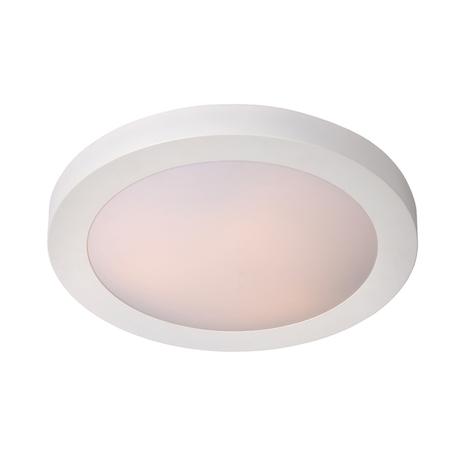 Потолочный светильник Lucide Fresh 79158/01/31, IP44, 1xE27x20W, белый, металл с пластиком, пластик