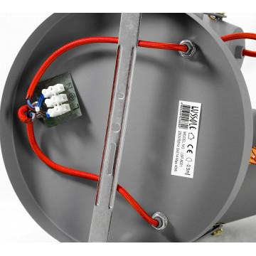 Потолочная люстра с регулировкой направления света Lussole Loft Bethel LSP-8021 - миниатюра 4