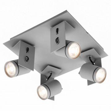 Потолочная люстра с регулировкой направления света Lussole Loft Dillingham LSP-8024