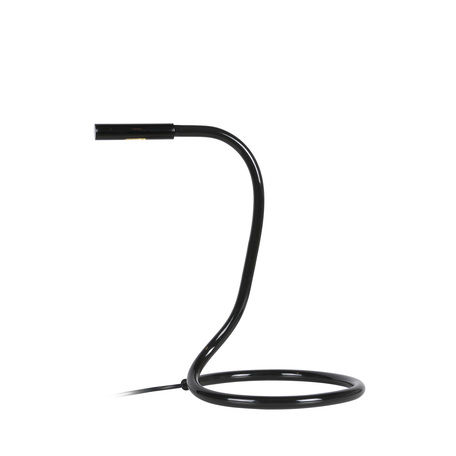 Настольная светодиодная лампа Lucide Snake 12635/23/30, LED 3W 2700K, черный, пластик