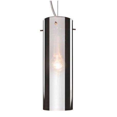 Подвесной светильник Lucide Miro 21401/01/11, 1xE14x40W, хром, черный, черно-белый, металл, стекло