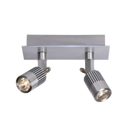 Потолочный светодиодный светильник с регулировкой направления света Lucide Skagen 10949/22/12, LED 6W 3000K 272lm, сталь, металл