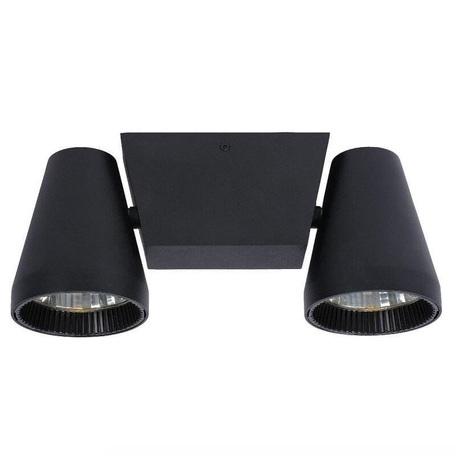 Потолочный светодиодный светильник с регулировкой направления света Lucide Cello 12159/22/30, LED 12W, черный, металл