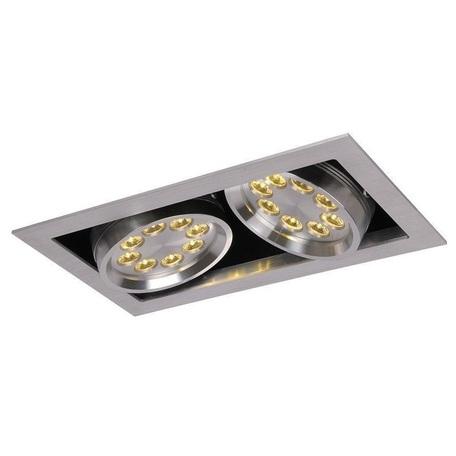 Встраиваемый светодиодный светильник Lucide LED Pro 28905/16/12, LED 16W 1600lm, сталь, металл
