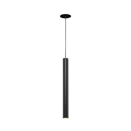 Встраиваемый подвесной светодиодный светильник SLV HELIA 40 158410, LED 3000K, черный, металл