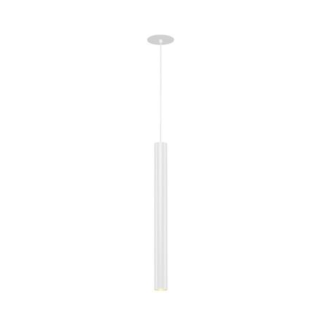 Встраиваемый подвесной светодиодный светильник SLV HELIA 40 158411, LED 3000K, белый, металл