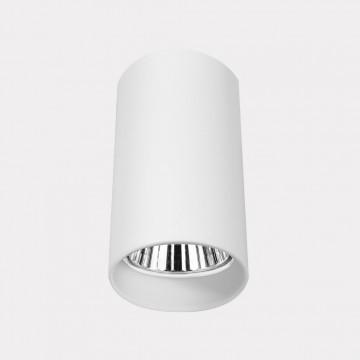 Подвесная люстра Crystal Lux CLT 015C WH 1400/123, хром, белый, металл, текстиль