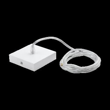Набор для подвесного монтажа светильника Eglo Salobrena 1 61489, белый, металл