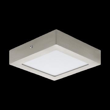Потолочный светодиодный светильник Eglo Fueva 1 32444, LED 12W, никель, металл, пластик