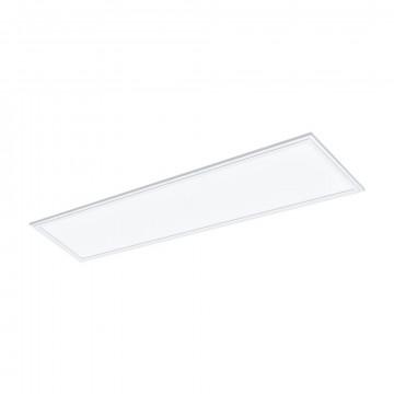 Светодиодная панель для встраиваемого или накладного монтажа Eglo Salobrena 1 96151, LED 40W 4000K 5500lm CRI>80, белый, металл с пластиком, пластик