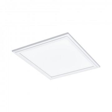 Светодиодная панель для встраиваемого или накладного монтажа Eglo Salobrena 1 96152, LED 16W 4000K 2100lm CRI>80, белый, металл с пластиком, пластик
