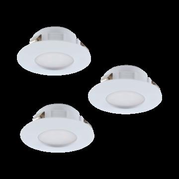 Встраиваемая светодиодная панель Eglo Pineda 95807, LED 6W, белый, пластик