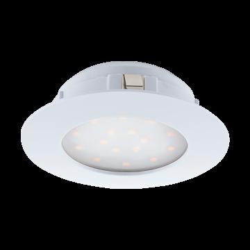 Встраиваемая светодиодная панель Eglo Pineda 95874, LED 12W, белый, пластик