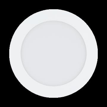 Встраиваемая светодиодная панель Eglo Fueva 1 96252, IP44, LED 10,9W, белый, металл, пластик