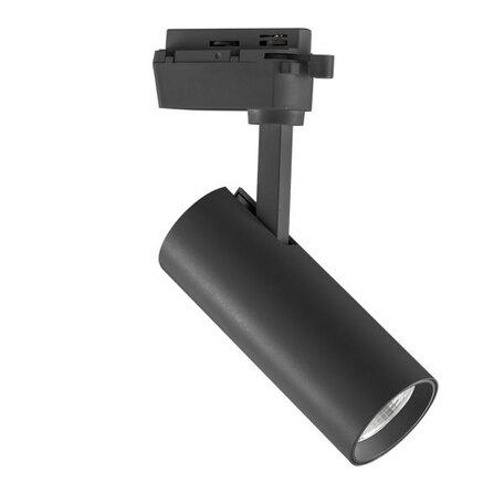 Светодиодный светильник для шинной системы Lightstar Volta 228237, LED 20W 3000K 1900lm, черный, металл