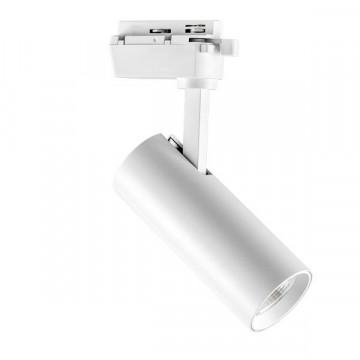 Светодиодный светильник с регулировкой направления света для шинной системы Lightstar Volta 228236, LED 20W 3000K 1900lm, белый, металл