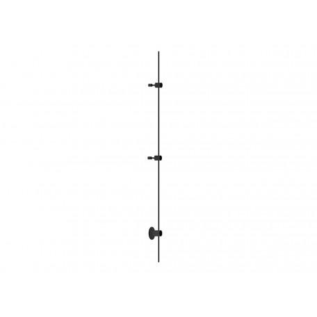 Магнитный шинопровод в сборе с питанием и заглушкой Donolux Code 1.2 DL20223L2000 Base Black