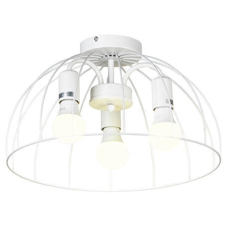 Светильник Lussole LGO Lattice GRLSP-8218, IP21, 3xE27x10W, белый, металл