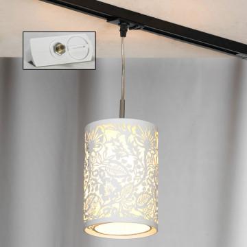 Светильник Lussole Loft Vetere LSF-2306-01-TAW, IP21, 1xE14x40W, белый, металл, металл с пластиком