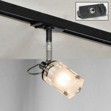 Светильник для шинной системы Lussole Promo Abruzzi LSL-7901-01-TAB