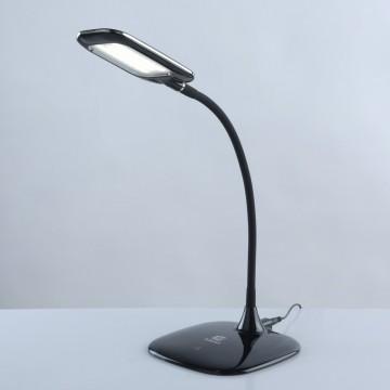 Настольная светодиодная лампа De Markt Ракурс 631035301, LED 3W 180lm, черный, пластик