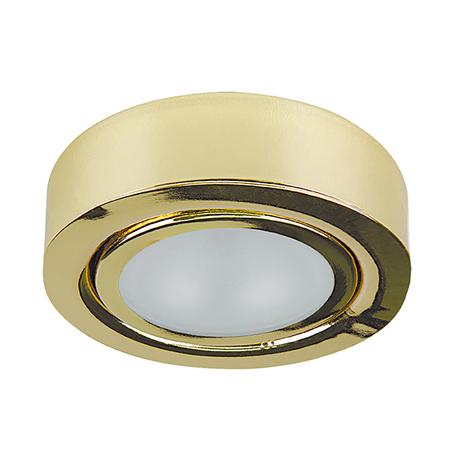 Мебельный светодиодный светильник Lightstar Mobiled 003352, LED 3,5W 3000K 270lm, золото, металл
