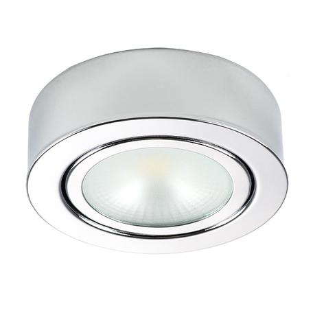 Мебельный светодиодный светильник Lightstar Mobiled 003354, LED 3,5W 3000K 270lm, хром, металл