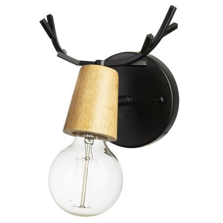 Светильник Loft It Sven 10024/1W Black, 1xE27x40W
