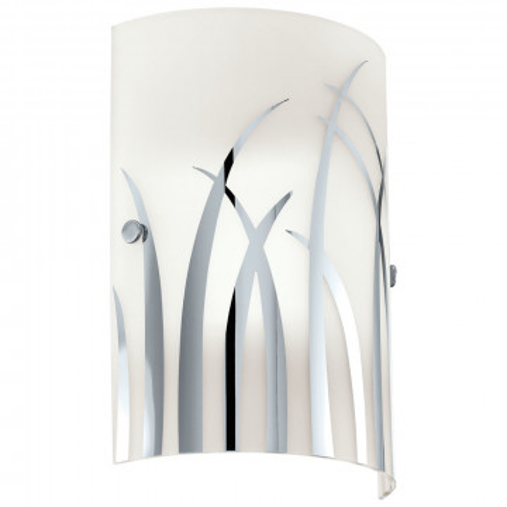 Настенный светильник Eglo Rivato 92742, 1xE14x42W, хром, металл, стекло