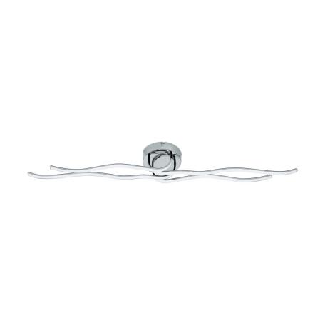 Потолочный светодиодный светильник Eglo Roncade 31996, LED 40W 3000K 3600lm CRI>80, хром, металл, металл с пластиком, пластик