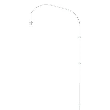Основание бра Umage Willow 4110, 1xE27x15W, белый, металл