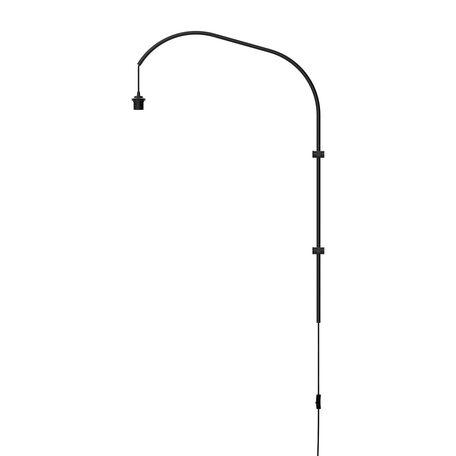 Основание бра Umage Willow 4111, 1xE27x15W, черный, металл