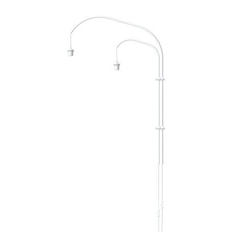 Основание бра Umage Willow 4130, 2xE27x15W, белый, металл