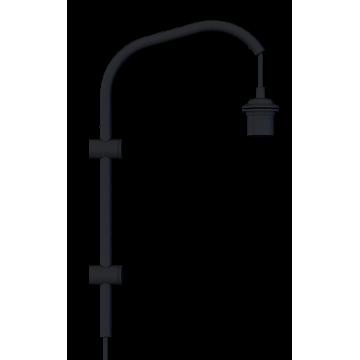 Основание бра Umage Willow 4151, 1xE27x15W, черный, металл