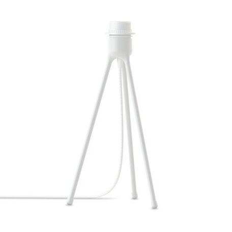Основание настольной лампы Umage Tripod Table 4021, 1xE27x15W, белый, металл, пластик, текстиль