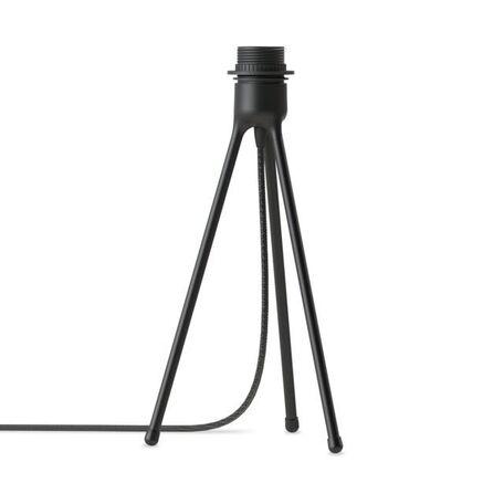 Основание настольной лампы Umage Tripod Table 4022, 1xE27x15W, черный, металл, пластик, текстиль