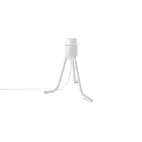 Основание настольной лампы Umage Tripod Base 4053, 1xE27x15W, белый, металл, пластик, текстиль