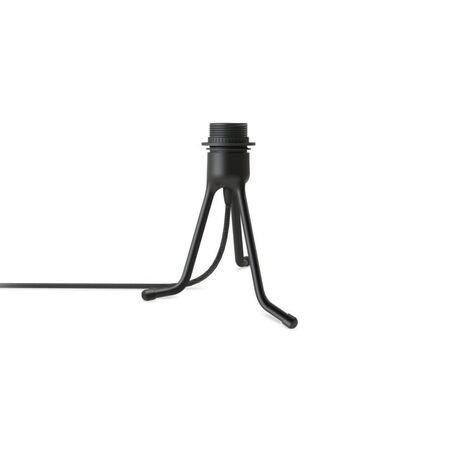 Основание настольной лампы Umage Tripod Base 4054, 1xE27x15W, черный, металл, пластик, текстиль