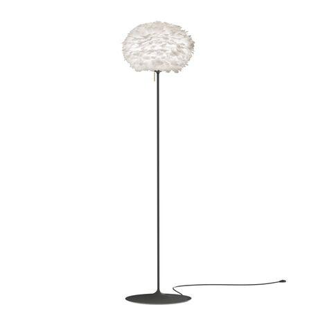 Основание торшера Umage Champagne Floor 4036, 1xE27x15W, черный, дерево, металл, пластик
