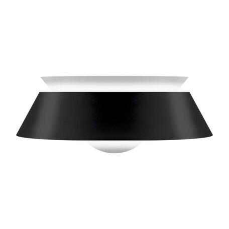 Плафон Umage Cuna 2035, черный, черно-белый, металл, пластик