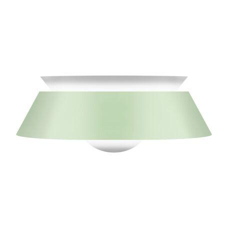 Плафон Umage Cuna 2036, белый, зеленый, металл, пластик
